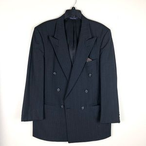 BURBERRY PIN STRIPED SUIT